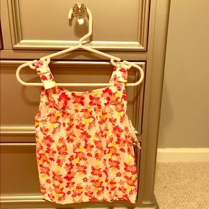 (NWT) Carters, baby girl top